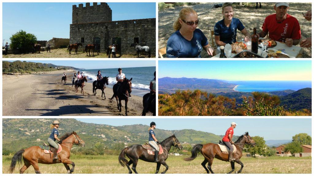 Vacanza a cavallo nel Cilento