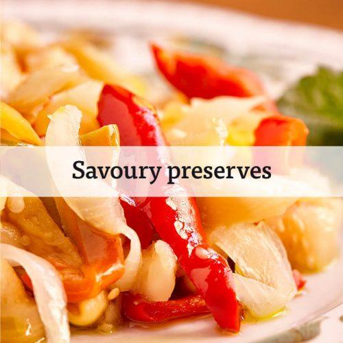 Savoury preserves