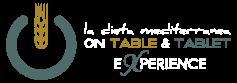 La Dieta Mediterranea on table & tablet